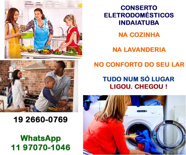 Conserto eletrodoméstico Indaiatuba