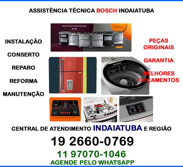 Assistência técnica Bosch Indaiatuba